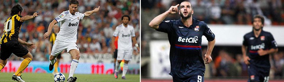Lyon vs Real Madrid