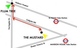Mapa del Mustard - Plum Tree