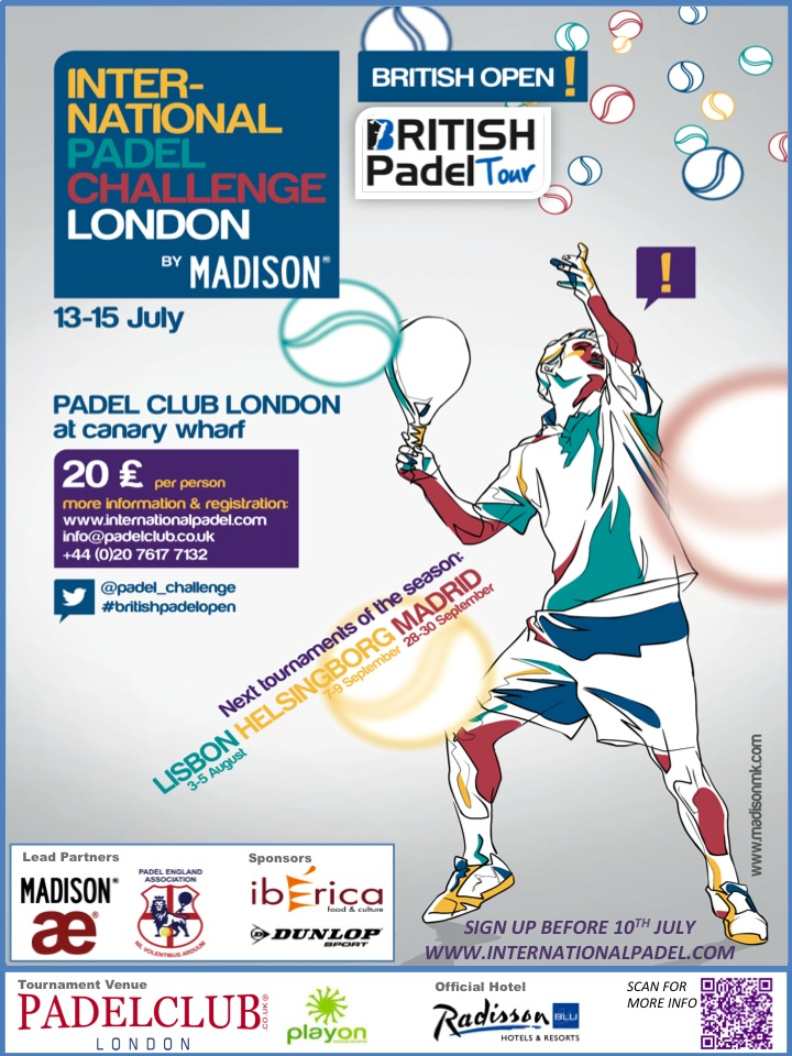 BRITISH PADEL OPEN 2012