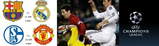 Barça vs. Madrid Semifinal Champions 2011 en Londres