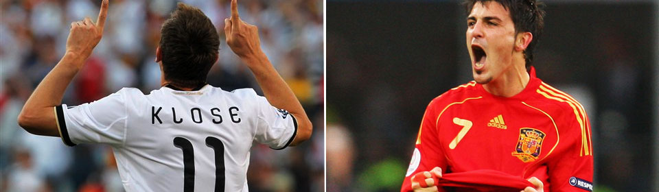 Spain vs Germany WCup 2010