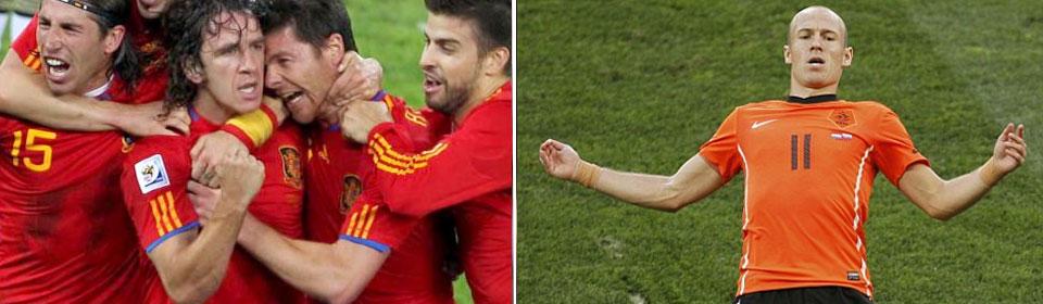 Spain vs Netherlands Final WCup 2010