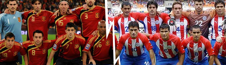 Spain vs Paraguay